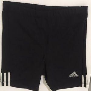 Adidas wmns  black shorts /tights sz L